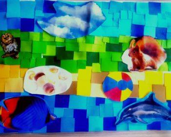 Collage Jahrgang 7