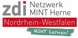 Das Logo zeigt das Netzwerk MINT Herne