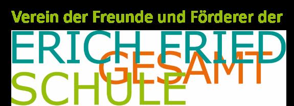 Logo des Fördervereins der Erich-Fried-Gesamtschule, Herne