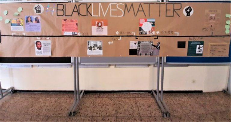 Black Lives Matter Aktion der EFG Q1 2020