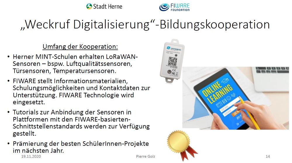 """Bildungskooperation """"Weckruf Digitalisierung"""""""