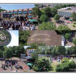 Fotocollage aus Bildern einer Drohnenkamera von Laurin Petrak
